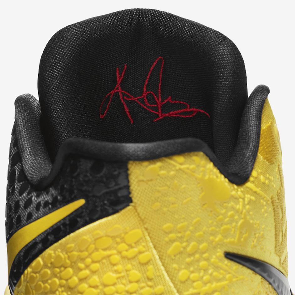 best service f4367 b83e4 Nike Kyrie 3 Bruce Lee Mamba Mentality Release Date ...