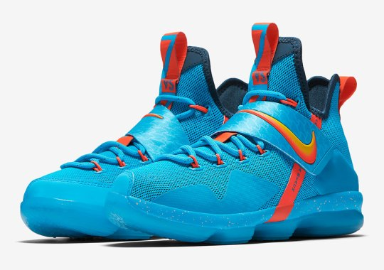 653ebe1cf56 This Nike LeBron 14 Is Inspired By LeBron s First Time Seeing The Ocean