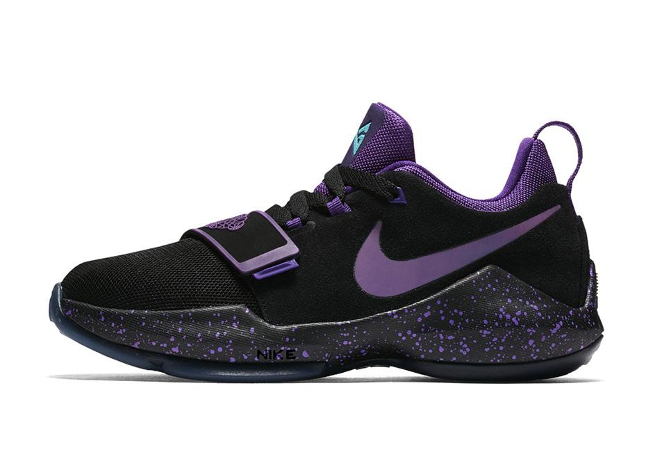 paul george shoes kids purple