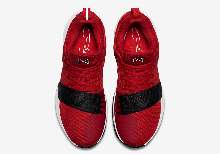 """f4fb312e5bdd Nike PG 1 """"University Red"""" Release Date  August 19th"""