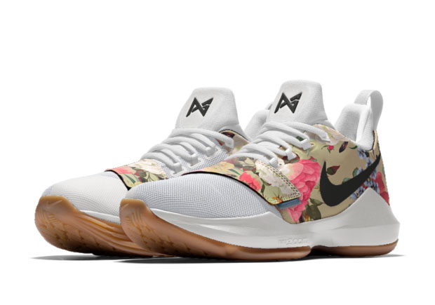 wholesale dealer e79c8 679b8 Nike PG1 Floral NIKEiD   SneakerNews.com