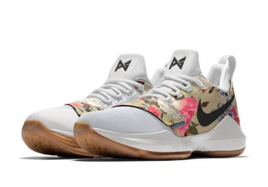 New Floral Print Options Available On The NIKEiD PG 1