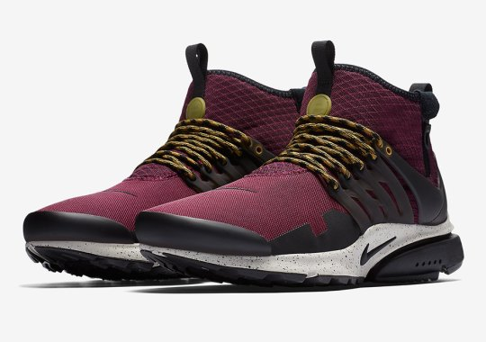 The Nike Presto Mid Utility Is Returning This Fall Season