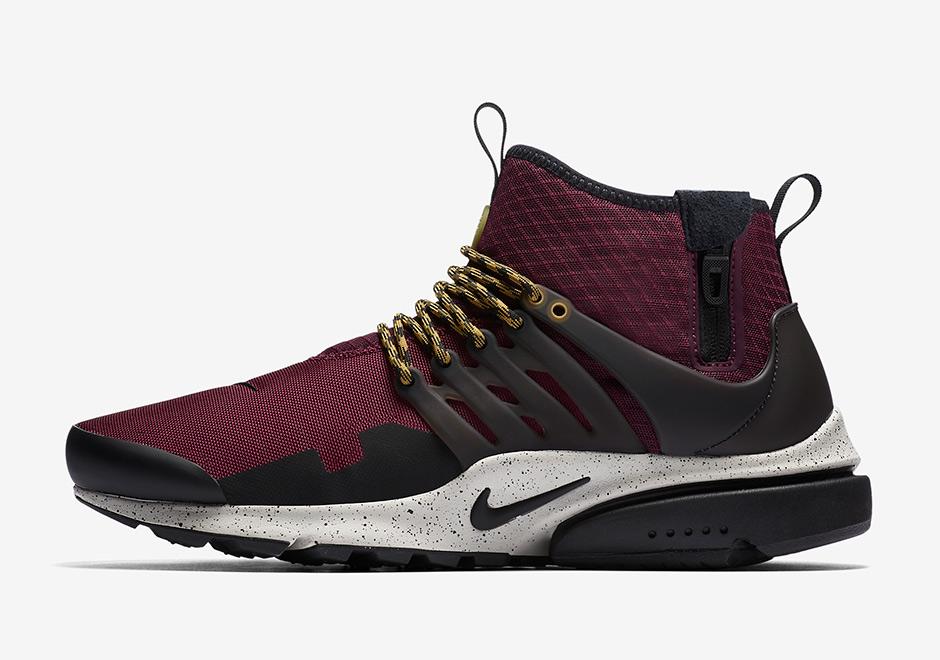 online retailer 183eb 1a08e Nike Presto Mid Utility Fall 2017 Colorways | SneakerNews.com