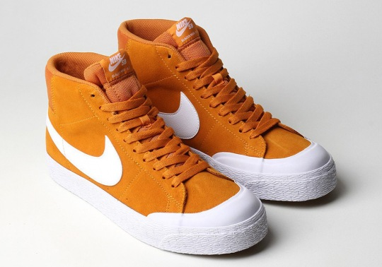 The Nike SB Blazer Mid XT Returns In Circuit Orange