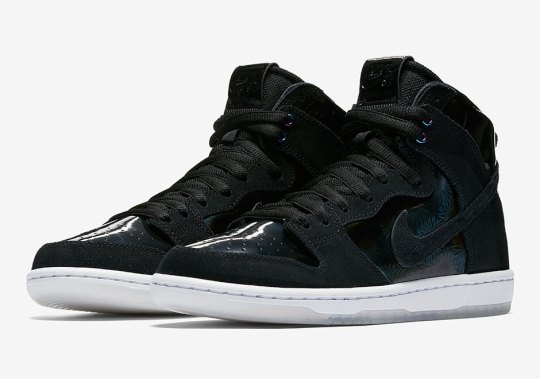 Nike SB Brings Iridescent Details To The Dunk High Pro