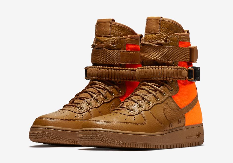 Nike SF-AF1 High Desert Ochre Total