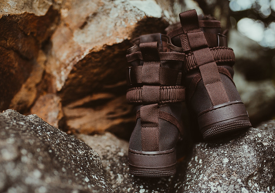 da0e068cce33 Nike SF-AF1 High Brown Suede 864024-203