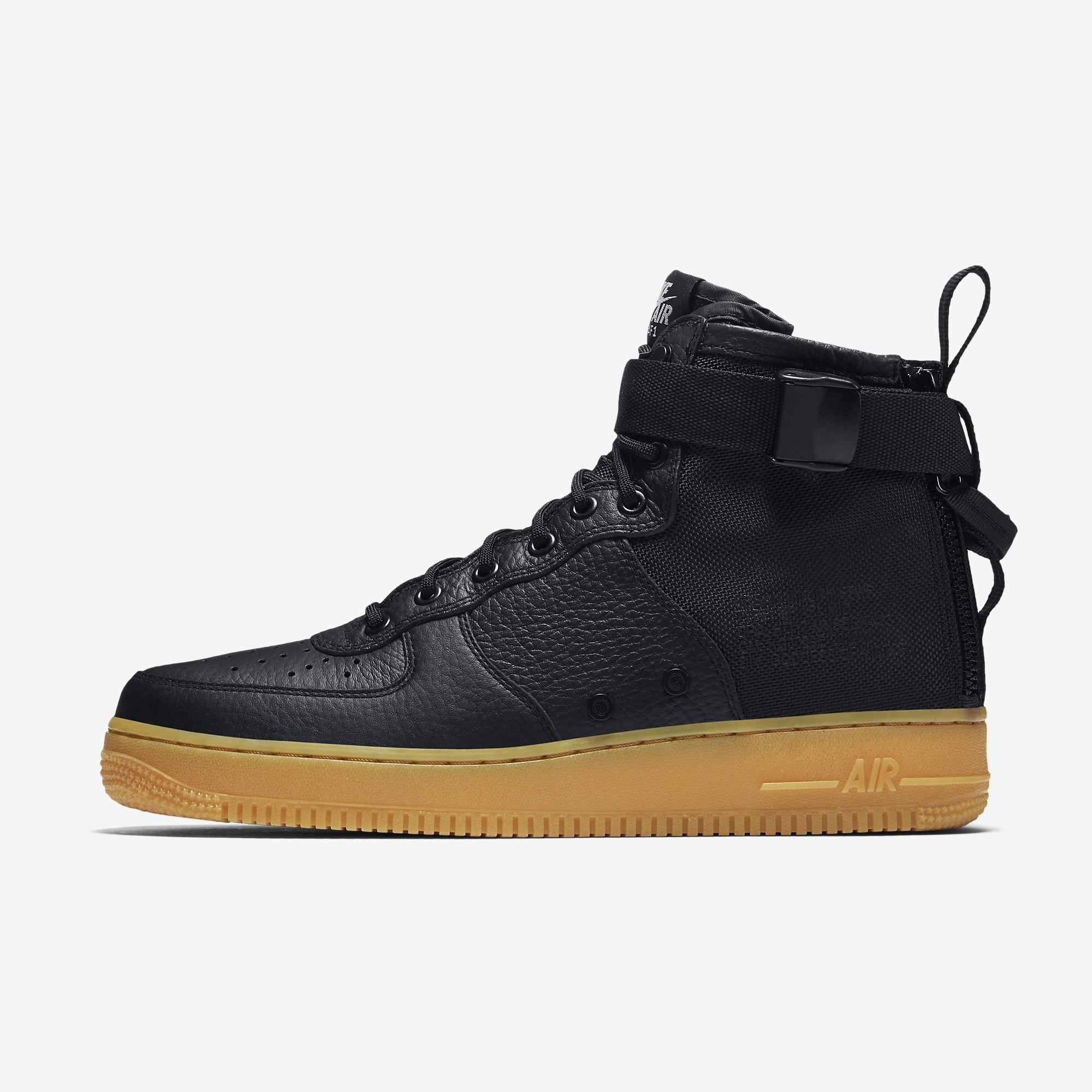 low priced 74b47 8a25b Nike SF-AF1 Mid Black Gum 917753-003   SneakerNews.com