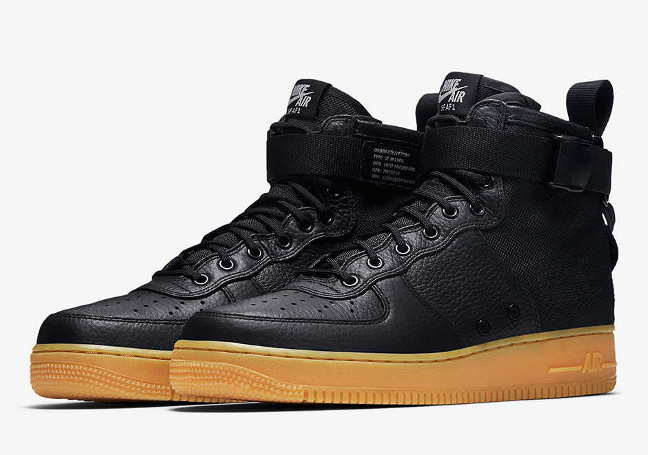 0800758dcc2c The Nike SF-AF1 Mid Is Releasing In A Classic Black Gum Look