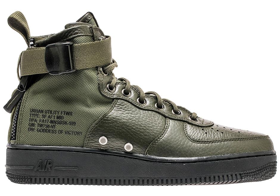Nike SF-AF1 Mid Sequouia 917753-300