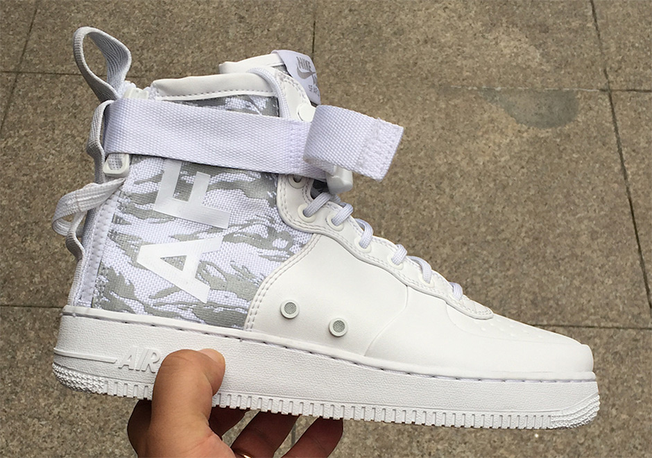best sneakers 62b92 e27a8 nike sf af1 mid tiger camo on feet