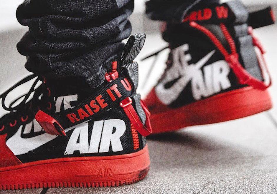 online retailer f64a4 b09fd Nike SF-AF1 Mid For 12  O Clock Boys Dirt-Bike Crew - SneakerNews.com