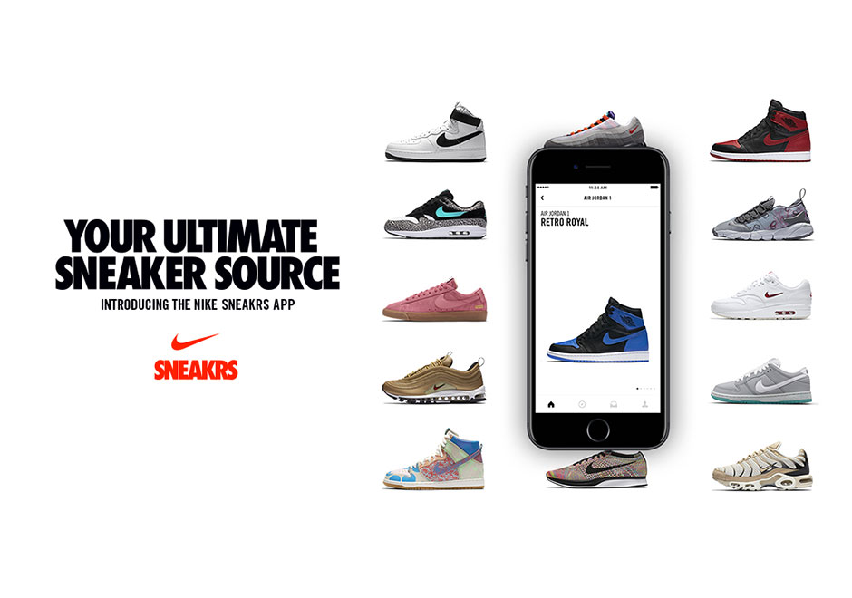 Nike SNEAKRS Europe App Launching With