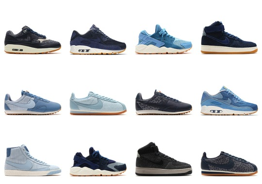 """Nike To Release A Huge """"Indigo"""" Collection Exclusively For Women"""
