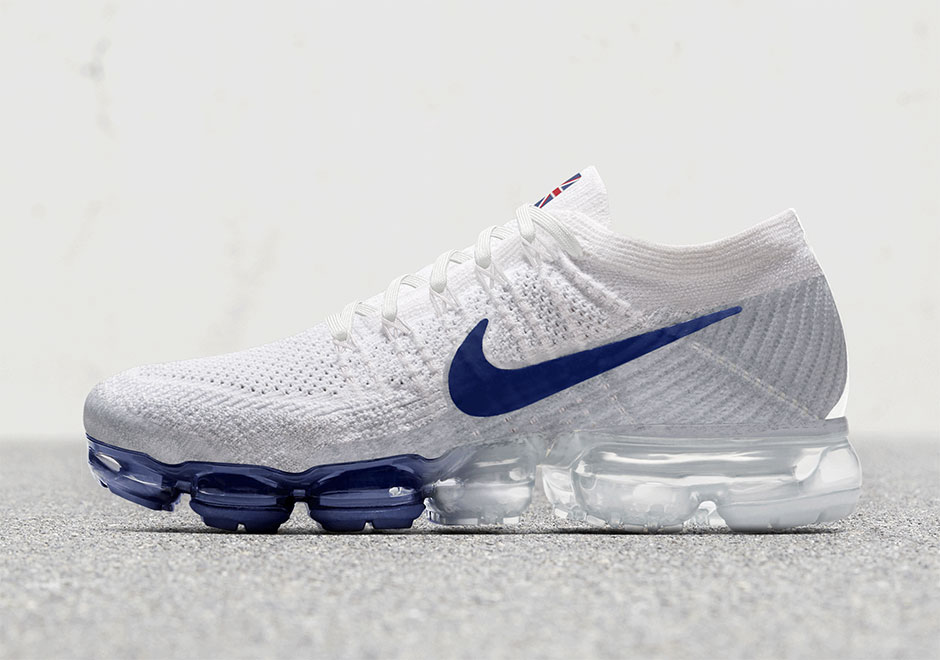 fe6c99ce5683b7 Nike continues to expand the Vapormax range with the introduction of this  exclusive country pack that highlights USA