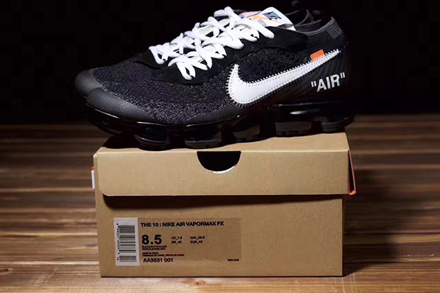 a2eab78f76 OFF WHITE Nike VaporMax Packaging Details | SneakerNews.com