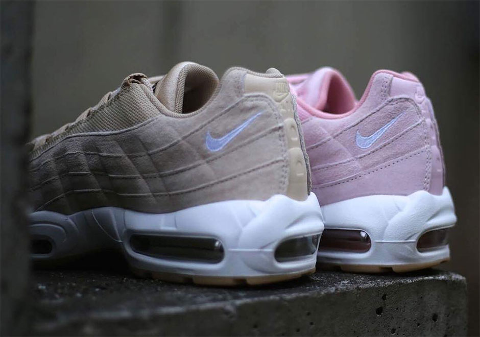 Nike Air Max 95 Oatmeal and Prism Pink Pack |