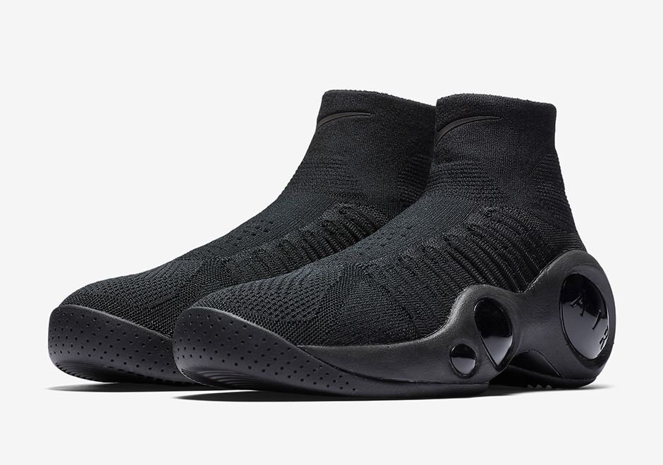 "b6aa5bfac2f52 Nike Zoom Flight Bonafide ""Triple Black"" AVAILABLE AT Nike $150. Color:  Black/Black-Black"