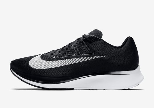 The Nike Zoom Fly Is Now Available In Black/White