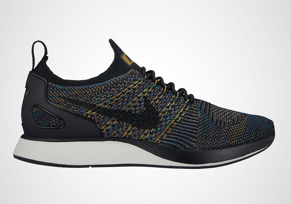 Nike Wmns Air Zoom Mariah FK Racer Flyknit Black Running Shoes AA0521001