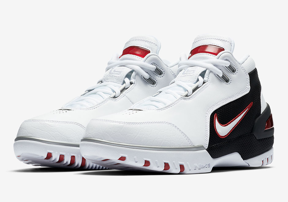 d12155b4abc0 Nike LeBron Zoom Generation White Black Official Images 852425-011 ...