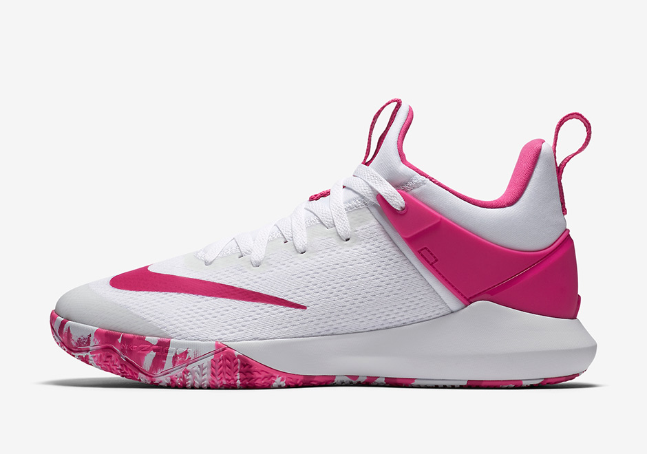 4d4d5d25374 nike zoom shift kay yow think pink 897654 101