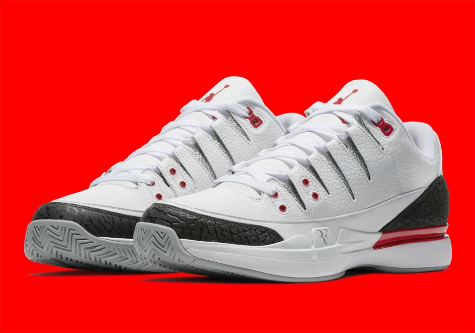 51e6017607f Nike Zoom Vapor Tour AJ3 Fire Red Release Date