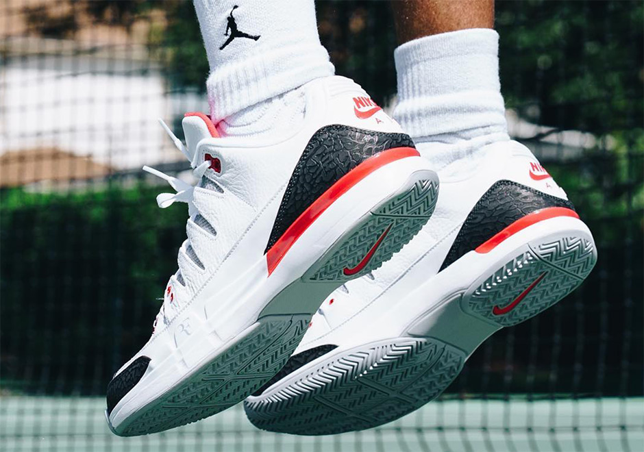 "The Nike Zoom Vapor Tour AJ3 ""Fire Red"" Releases In Europe On September 10th"