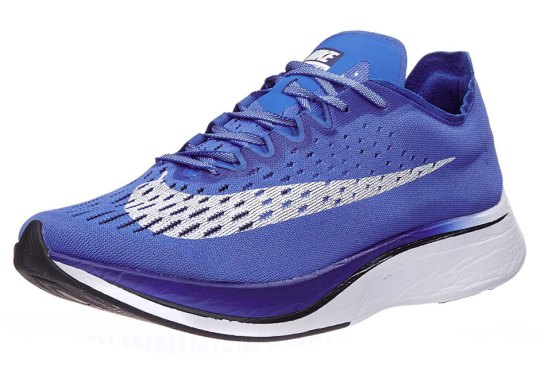 The Nike ZoomX VaporFly 4% Releasing In Royal Blue