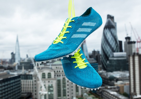Parley And adidas Unveils First Primeknit Track Spikes With Recycled Ocean Plastics