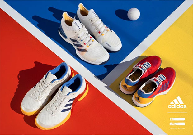 8143c0d53ff57 Pharrell s Next adidas Collaboration Features Actual Tennis Shoes