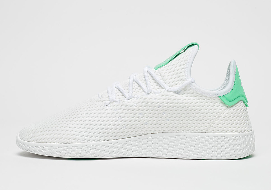info for 4899d c22a1 Pharrell x adidas Tennis Hu Release Date: August 8th, 2017 $130. Style  Code: BY8717. Source: Solebox