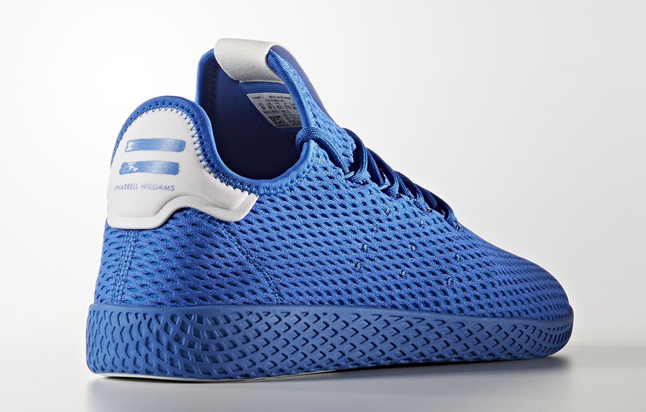 8f4df2eba5fac Pharrell adidas Tennis Hu Solids Pack Release Date