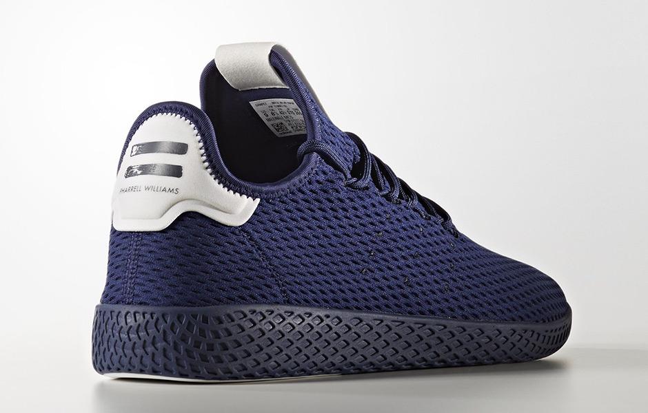 """99be6e982 Pharrell x adidas Tennis Hu """"Solids"""" Release Date  September 8th"""