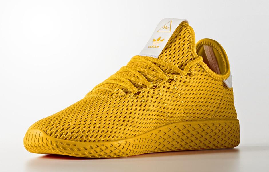 ce93173e Pharrell adidas Tennis Hu Solids Pack Release Date   SneakerNews.com