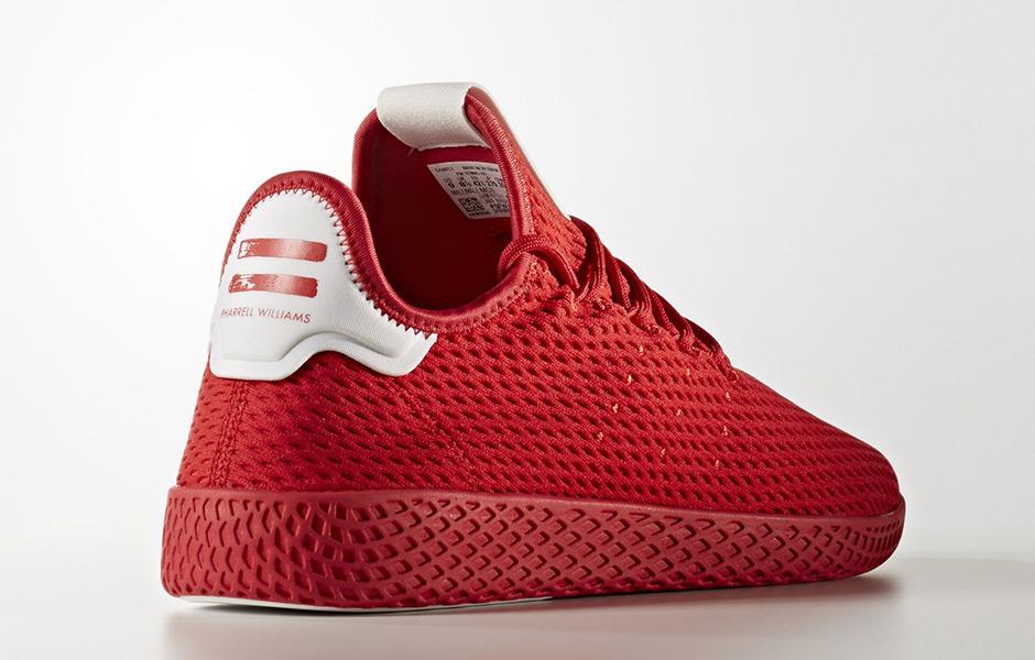 5033acf45 Pharrell adidas Tennis Hu Solids Pack Release Date