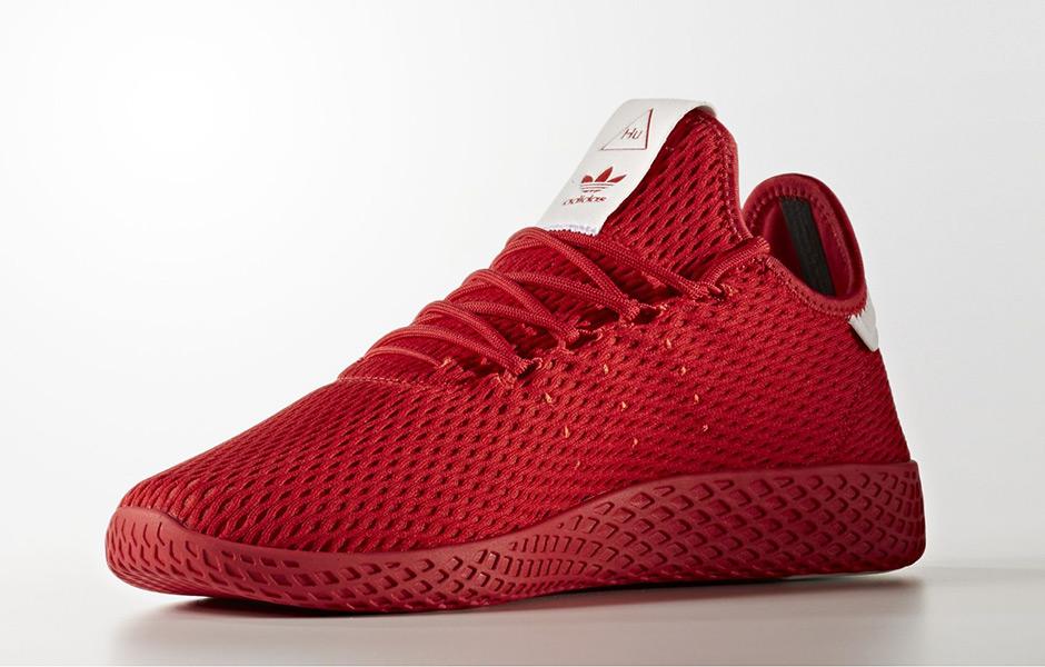 f0c3c149cd0f5 Pharrell adidas Tennis Hu Solids Pack Release Date