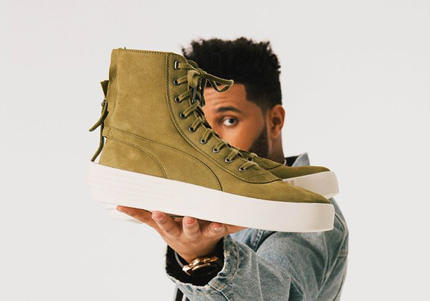 puma the weeknd