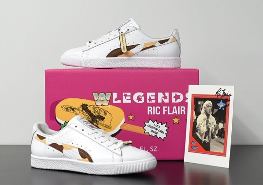 WWE, Puma, And Alexander John Release Shoe Inspired By Old School Ice Cream Bars