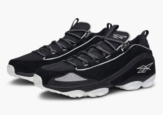 Reebok Releases The DMX Run 10 In Clean Black And White Colorways