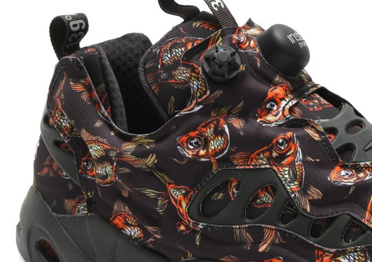 Reebok Gets Fishy With The Instapump Fury Road