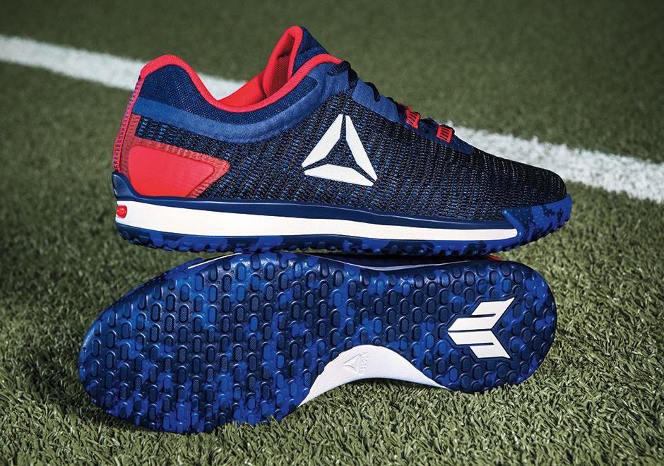 a33eb0d3a95d Reebok JJ II Texans Color JJ Watt Shoe