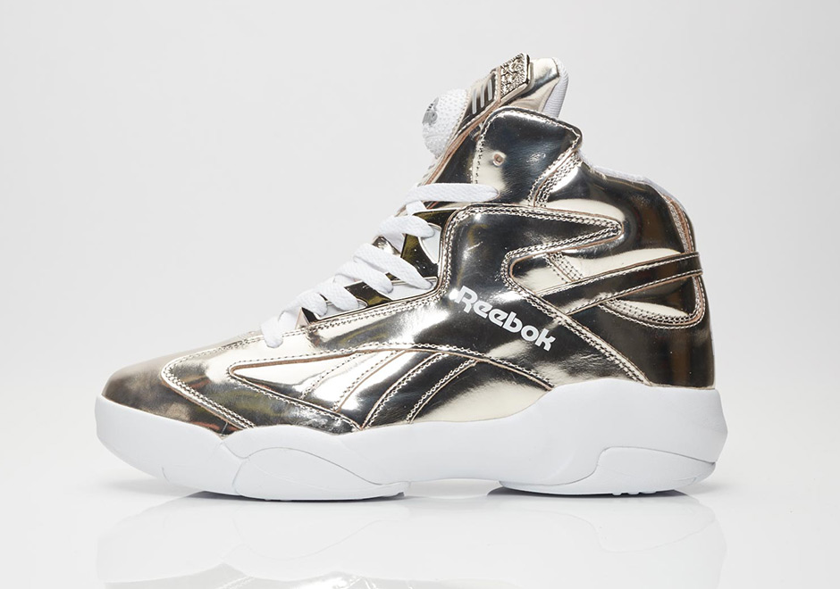 """4a2b8da1910f ... the """"Platinum"""" Shaq Attaq drops September 1st at select Reebok Classic  retailers like Sneakersnstuff. Go dust off your copy of Shaq Diesel and pop  it in ..."""