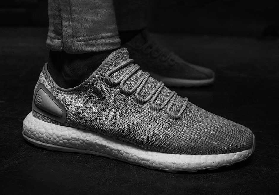 a733e95f25717 Both the Reigning Champ x adidas Pure BOOST and AlphaBOUNCE release  globally on August 4th.