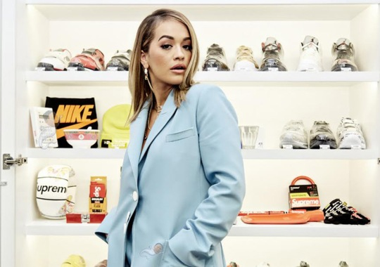 Rita Ora Buys Classic Jordans, Air Maxes, and NMDs While Sneaker Shopping at Stadium Goods