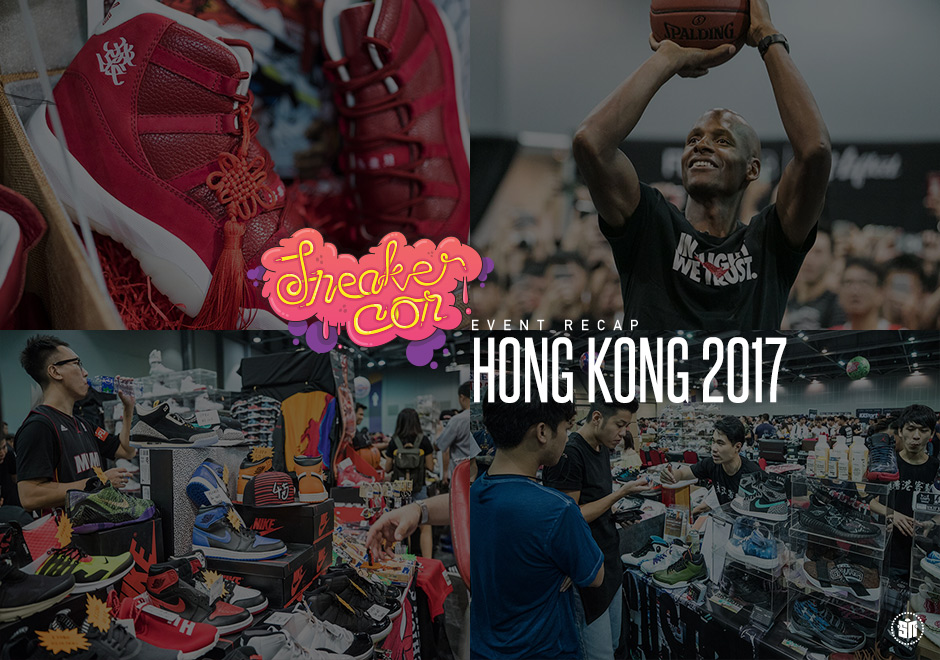 Ray Allen And MC Jin Draw Huge Crowds At Hong Kongs First Ever Sneaker Con