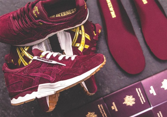 Sneakerness and ASICS Team Up For GEL-Lyte V Inspired By European Passports