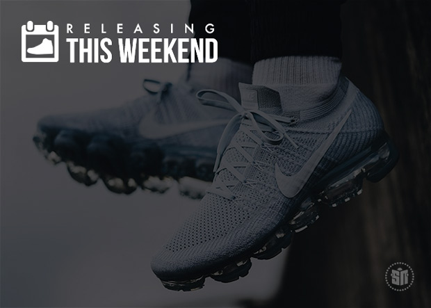 Pure Platinum VaporMax Restock, Pharrell x Stan Smith & More of This Weekend's Best Releases