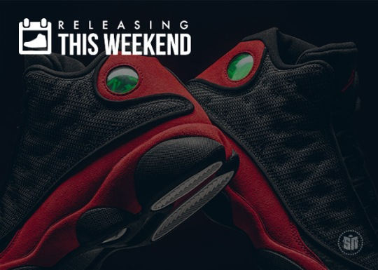 """The Return Of Bred 13s, """"Sashiko"""" NMDs, And All Of This Week's Best Sneaker Releases"""